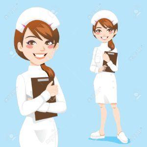 12357415-hermosa-enfermera-amable-y-segura-sonrisa-sujetapapeles-celebraci-n-foto-de-archivo