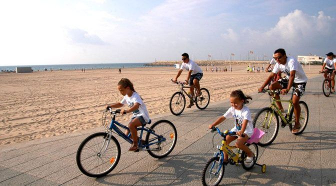 Bicis y niños