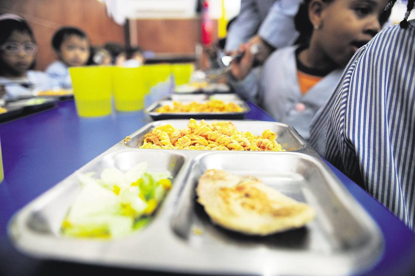 Queja comedor escolar