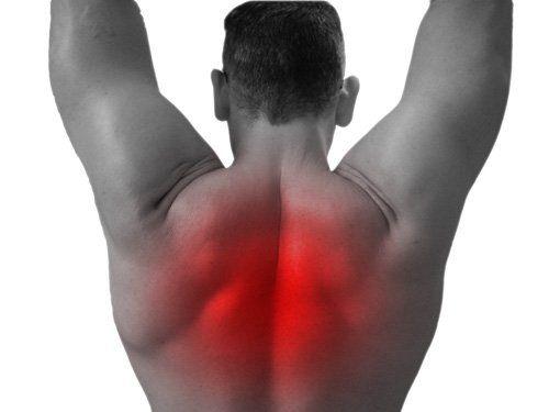 Como estirar la espalda alta