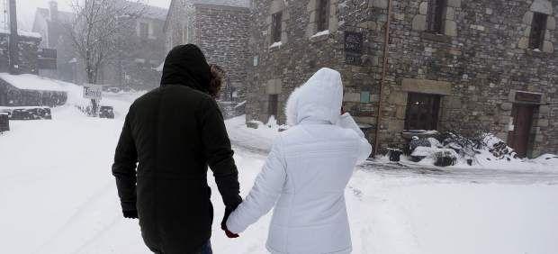 Por primera juntos….en la nieve