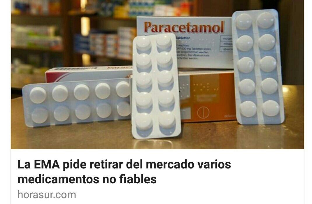 EMA retira medicamentos