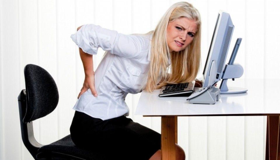 Oficina, espalda y dolor unidos de por vida